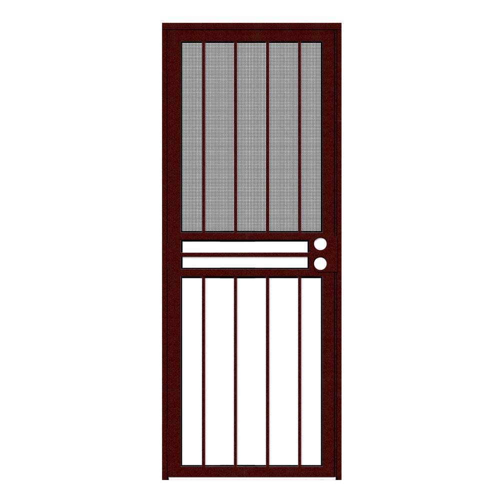 Red - Security Doors - Exterior Doors - The Home Depot