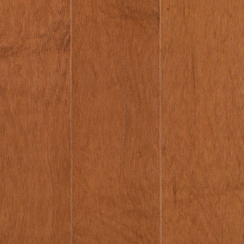 Mohawk Pristine Maple Ginger Engineered Hardwood Flooring - 5 in. x 7 in. Take Home Sample