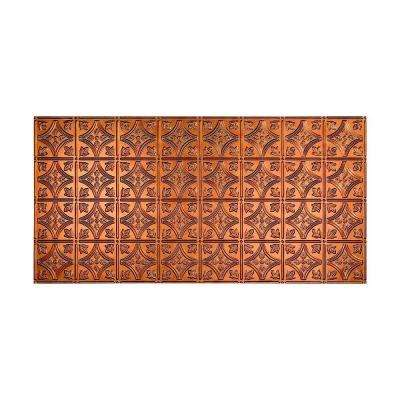 Traditional 1 - 2 ft. x 4 ft. Glue-up Ceiling Tile in Antique Bronze