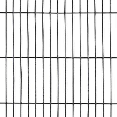 4 ft. x 50 ft. 16-Gauge Black PVC Coated Welded Wire Fence with Mesh Size 1/2 in. x 3 in.