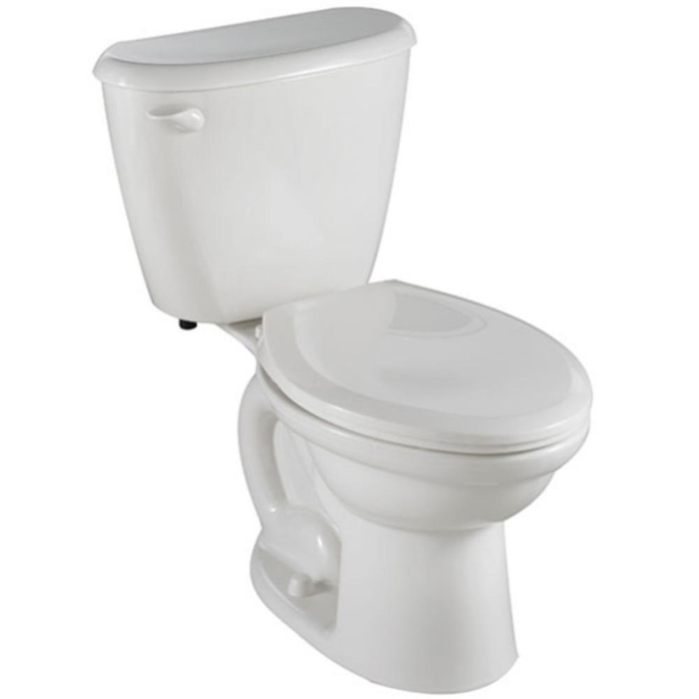 American Standard Colony FitRight 2-piece 1.6 GPF Elongated Toilet in White