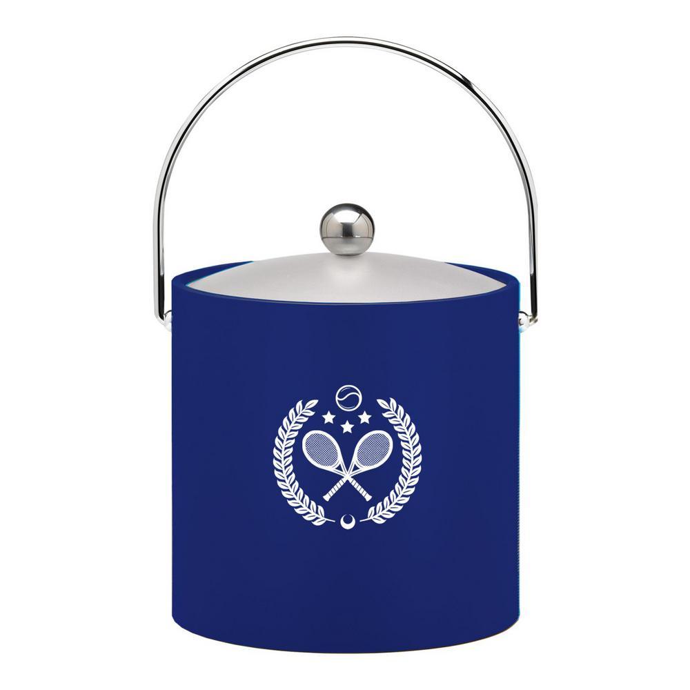 Kasualware Tennis 3 Qt. Ice Bucket in Blue
