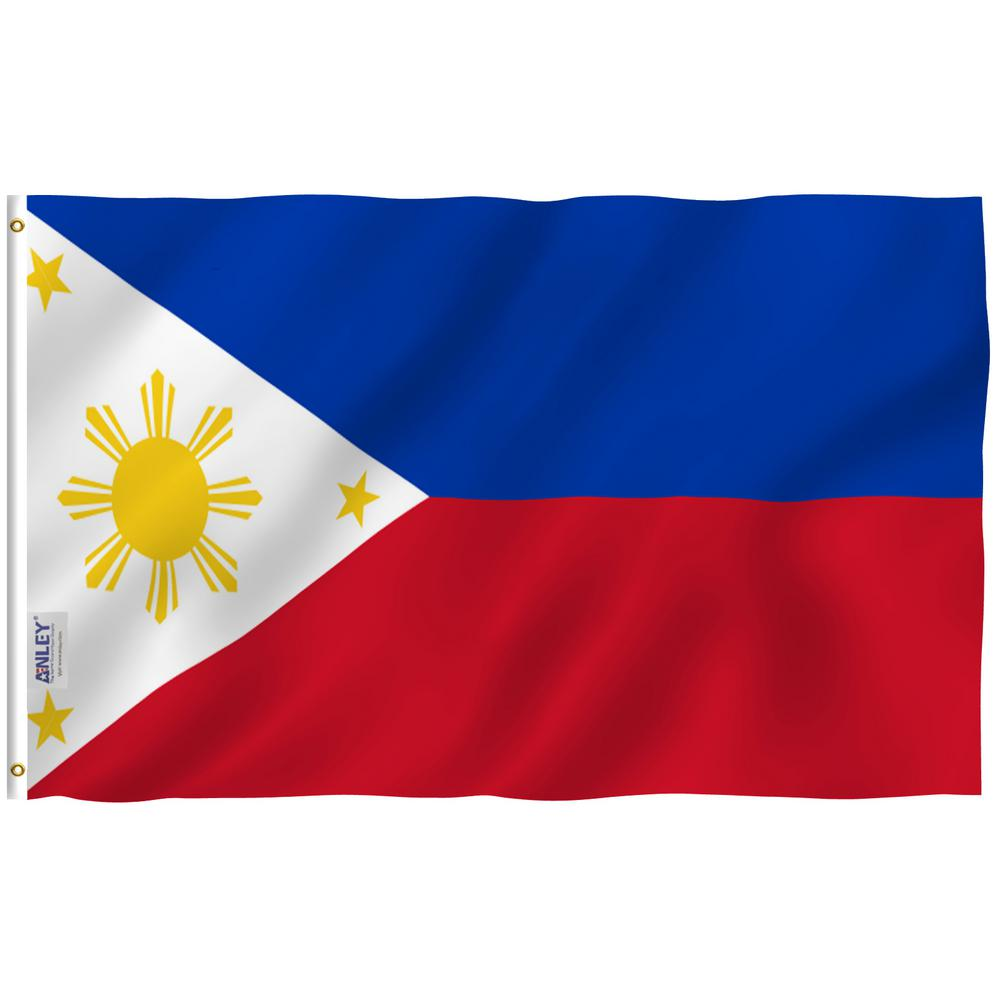 Anley Fly Breeze 3 Ft X 5 Ft Polyester Philippine Flag 2