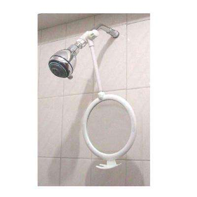 Fogless Shower Mirror in White