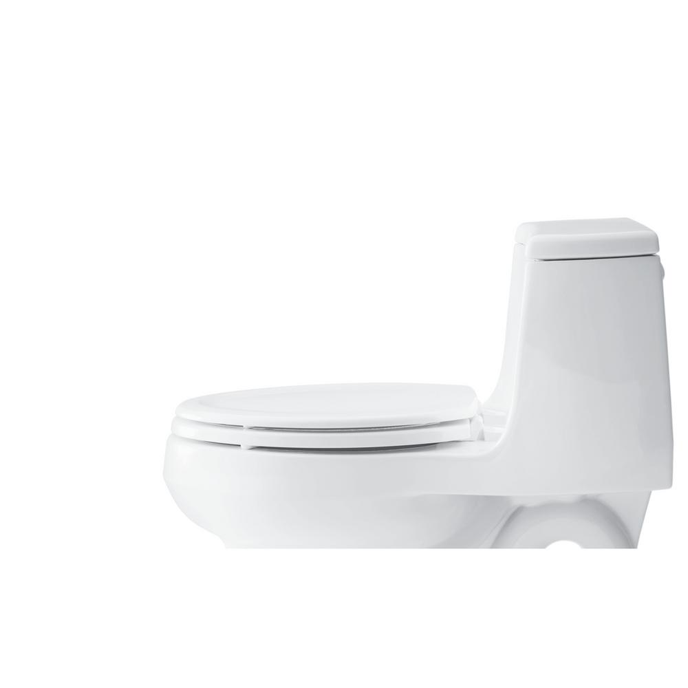 Astonishing Details About White Stonewood Round Closed Front Toilet Seat Home Bathroom Plumbing Fixtures Machost Co Dining Chair Design Ideas Machostcouk