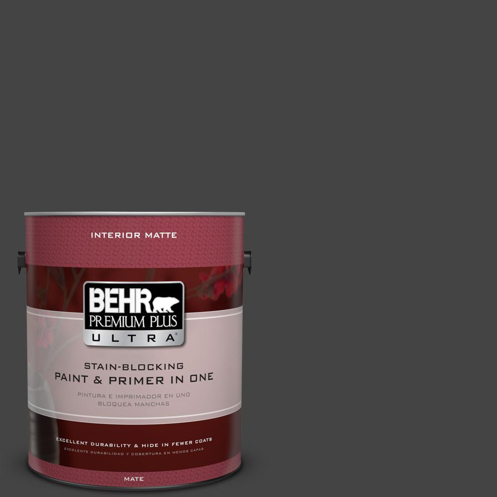 BEHR Premium Plus Ultra 1 gal. #PPU18-20 Broadway Flat/Matte Interior Paint