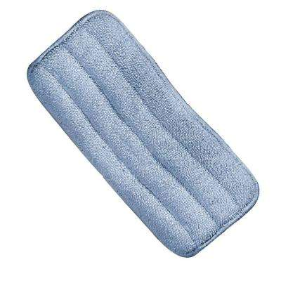 24 in. Microfiber Wet Mop Pad in Blue (Case of 12)