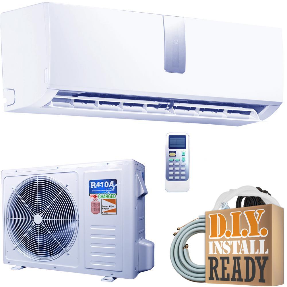 Super Efficiency GWi Series 18,000 BTU 1.5 Ton Inverter Ductless Mini Split Air Conditioner and Heat Pump - 230V/60Hz