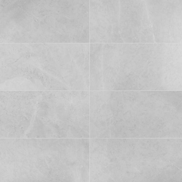 Blizzard Gray 12 in. x 24 in. Honed Floor and Wall Tile (5-Piece, 10 sq. ft./Case)