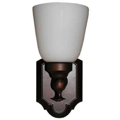 1-Light Coffee Wall Sconce