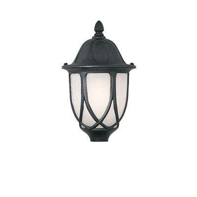 Greenwood Collection Outdoor Black Post Lantern