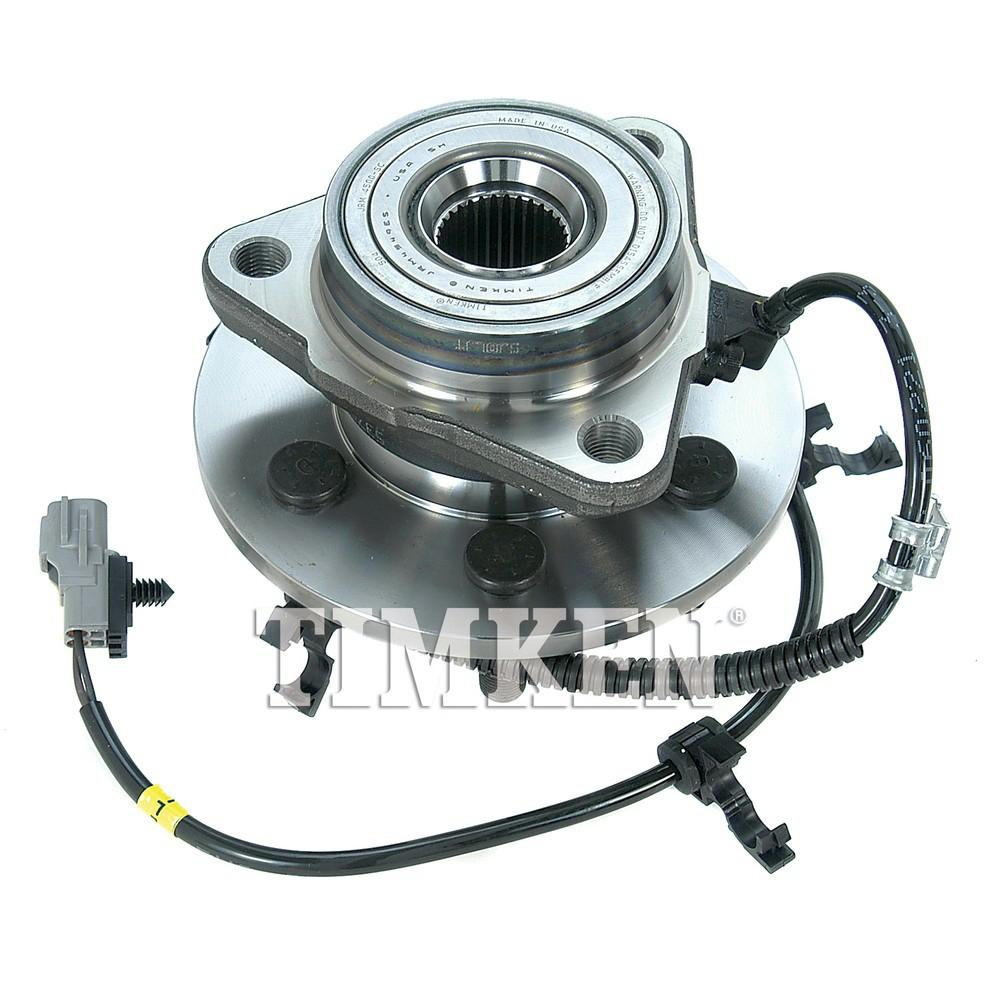 Timken Front Left Wheel Bearing And Hub Assembly Fits 1997