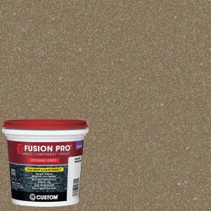Custom Building Products Fusion Pro #556 Gold 1 qt. Designer Series Grout by Custom Building Products