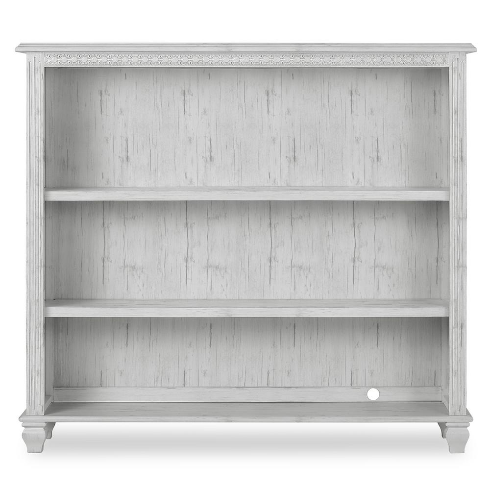 Evolur Madison Antique Grey Mist Adjustable Bookcase
