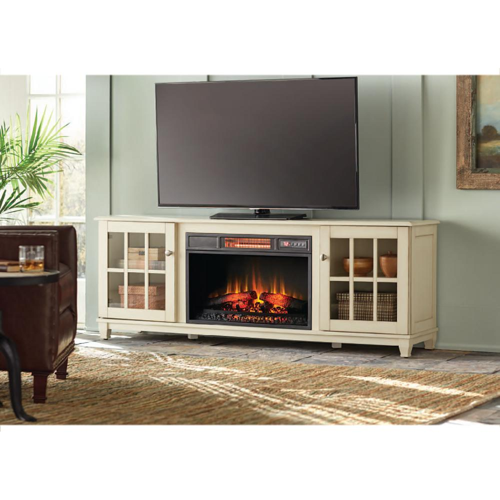 beige fireplace tv stands electric fireplaces the home depot