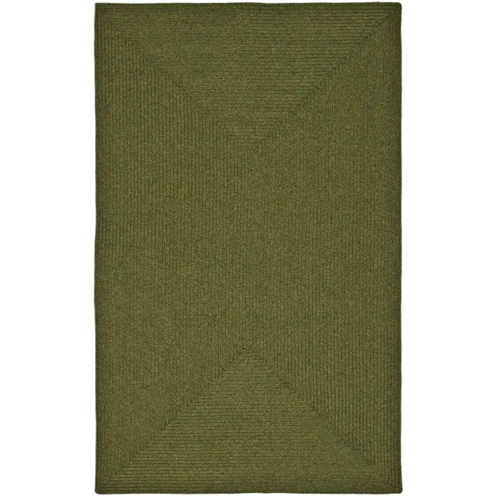 Safavieh Braided Green 4 Ft X 6 Ft Area Rug Brd315a 4 The Home