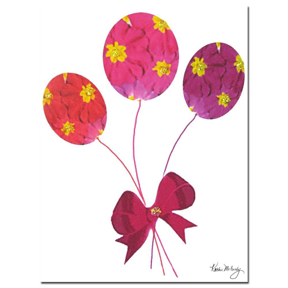 Trademark Fine Art 18 in. x 24 in. Primrose Balloons Canvas Art