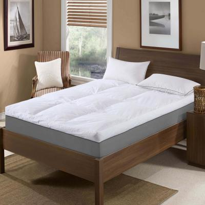 233 Thread Count Cotton Full Feather Topper