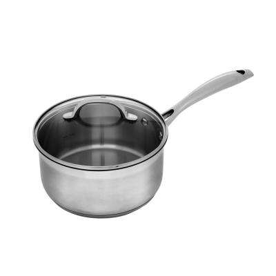Premium Steel 3.1 Qt. Sauce pan with Lid