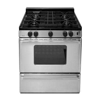 ProSeries 30 in. 3.91 cu. ft. Gas Range in Stainless Steel