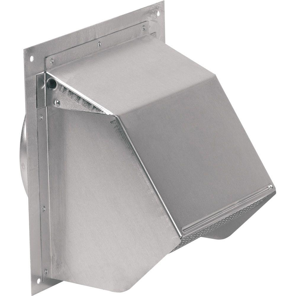 Attirant Broan Fresh Air Inlet Aluminum Wall Cap For 6 In. Round Duct For Range Hoods