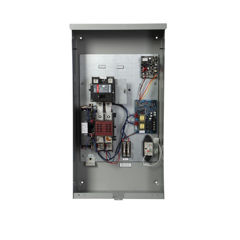 [QNCB_7524]  Briggs & Stratton Symphony II 200 Amp Whole House Automatic Transfer Switch-71068  - The Home Depot | Symphony Transfer Switch Wiring Diagram 2 |  | The Home Depot