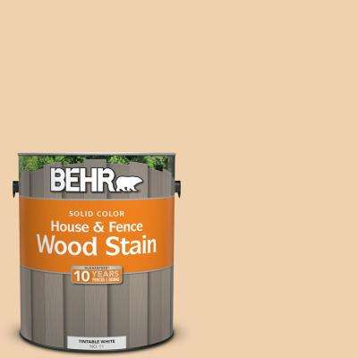 1 gal. #300E-2 Calm Air Solid Color House and Fence Exterior Wood Stain