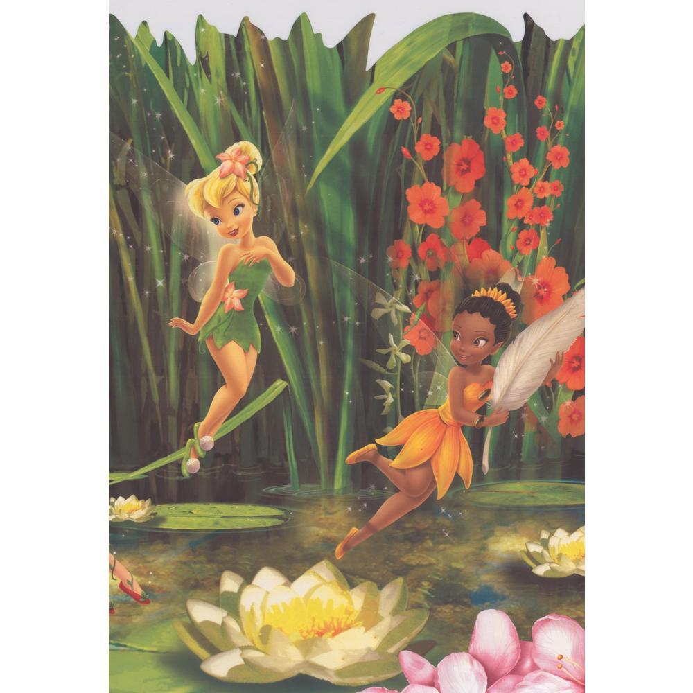 York Wallcoverings ''Disney Fairies Tinker Bell Fawn Iridessa Rosetta Silvermist