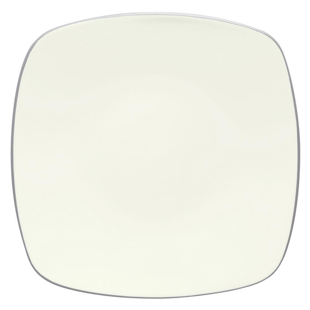 Colorwave 10.75 in. Slate Square Dinner Plate