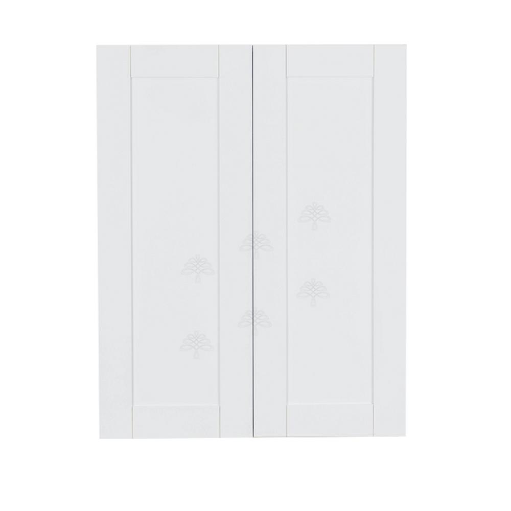 Anchester Assembled 27x42x12 in. 2 Door Wall Cabinet with 3 Shelves