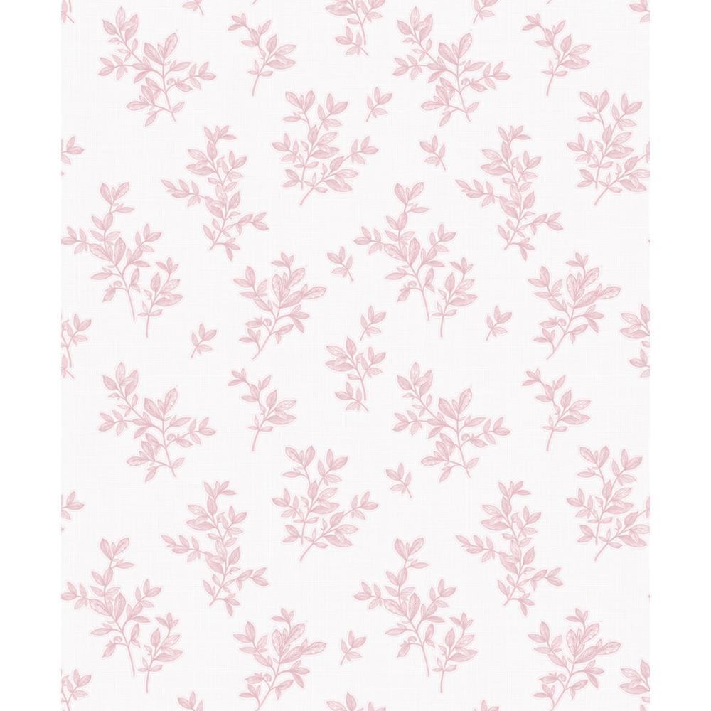 Advantage 57 8 Sq Ft Pothos Pink Toss Wallpaper 2811 Lv04202