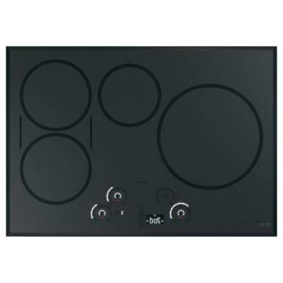 30 in. Induction Cooktop in Stainless Steel with 5 Elements including Sync-Burners