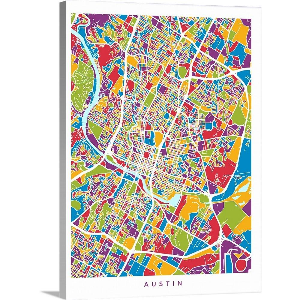 Map Of Austin Texas on