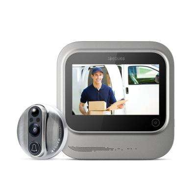 VEIU Smart Video Door Bell, Nickel