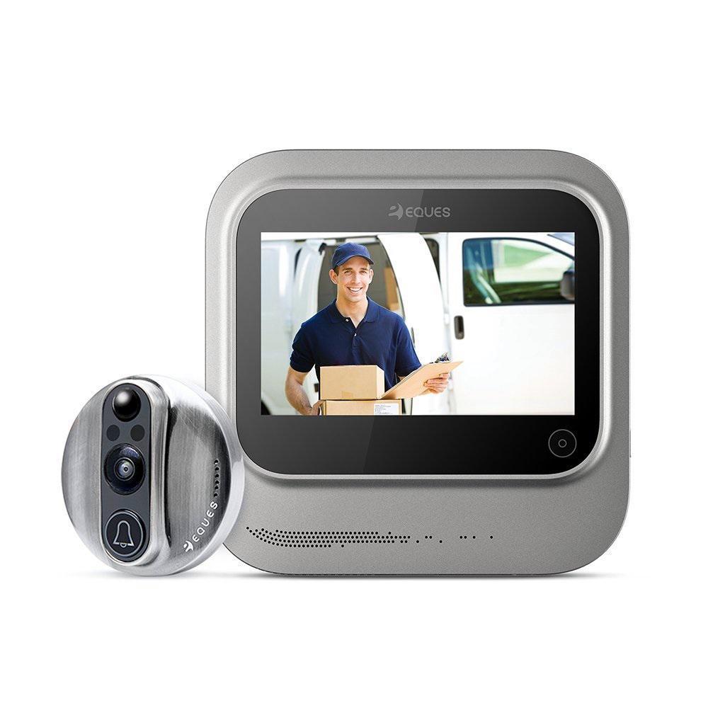 VEIU Wireless Smart Video Door Bell, Nickel