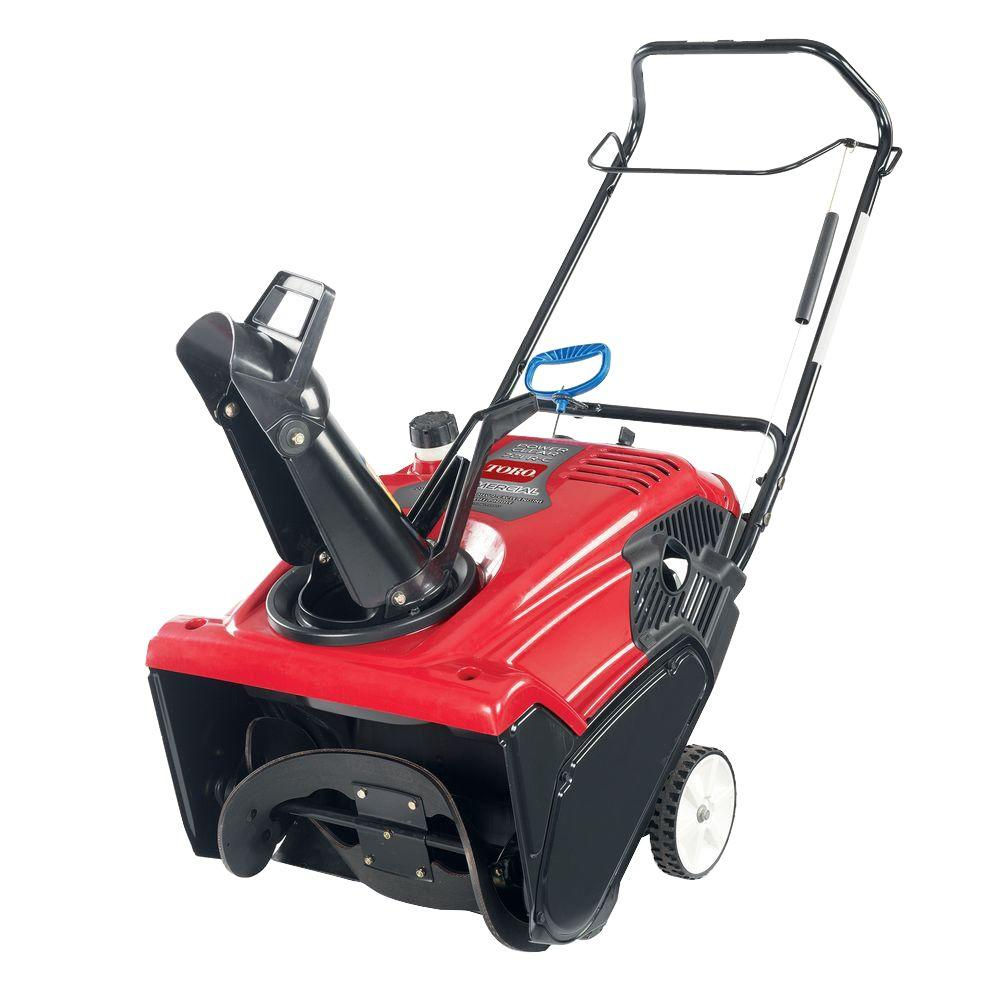 Toro Commercial Power Clear 721 RC 21 in. 212cc Single-Stage Gas Snow Blower