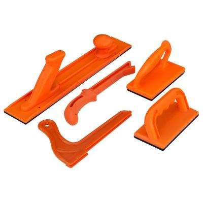 Plastic Safety Push Block and Stick Set (5-Piece)