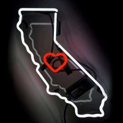 Oliver Gal 'California' Plug-in Neon Lighted Sign