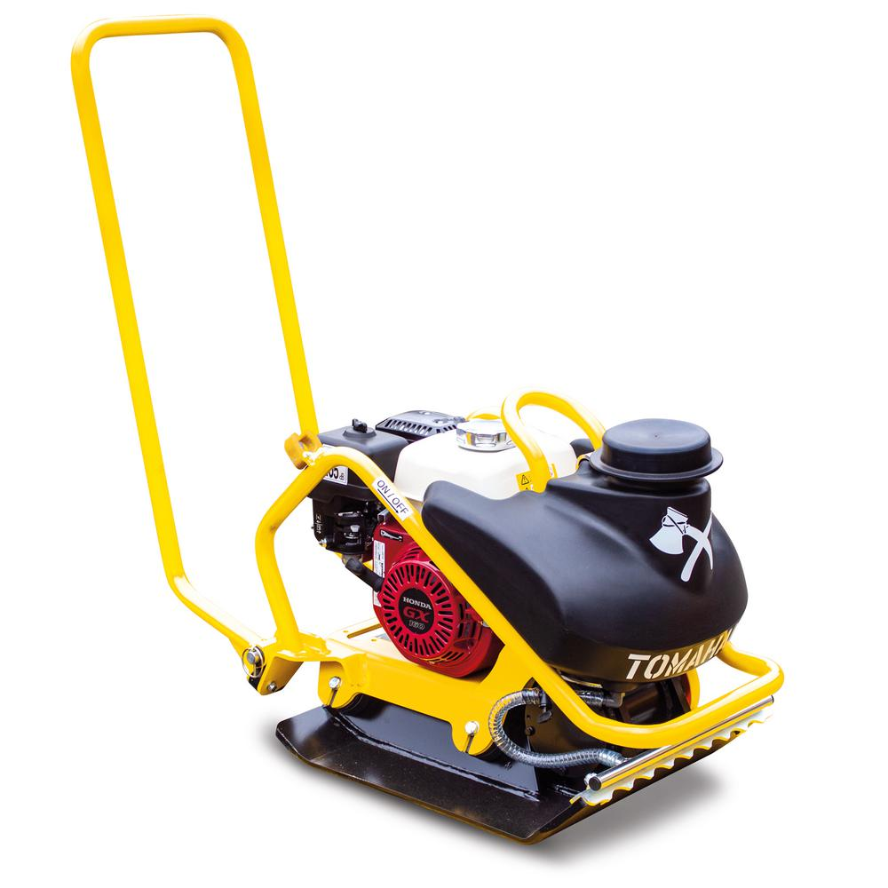 Tomahawk Power 5.5 HP Forward Plate Compactor with Water Tank for Asphalt/Aggregate/Cohesive Soil Compaction