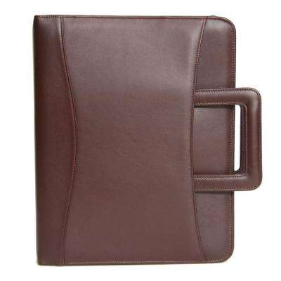 Executive Zippered Binder Writing Portfolio Organizer