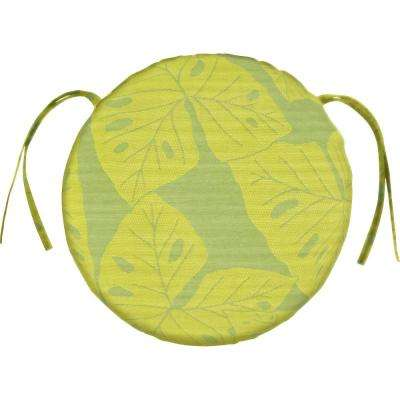 Sunbrella Radiant - Kiwi Round Outdoor Seat Cushion