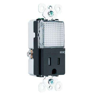 Combination Hall Light and Combo Outlet