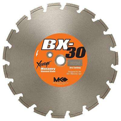 14 in. Segmented Dry Cutting Diamond Saw Blade for Brick and Block