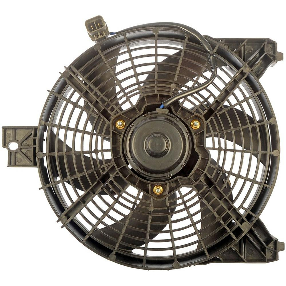 Replacement AC Condenser Fan Assembly For Nissan Titan Armada