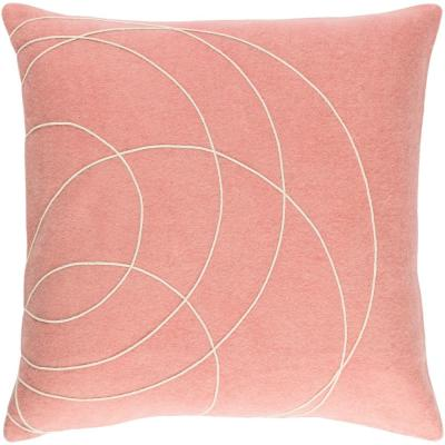 Bempton Purple Geometric Polyester 20 in. x 20 in. Throw Pillow