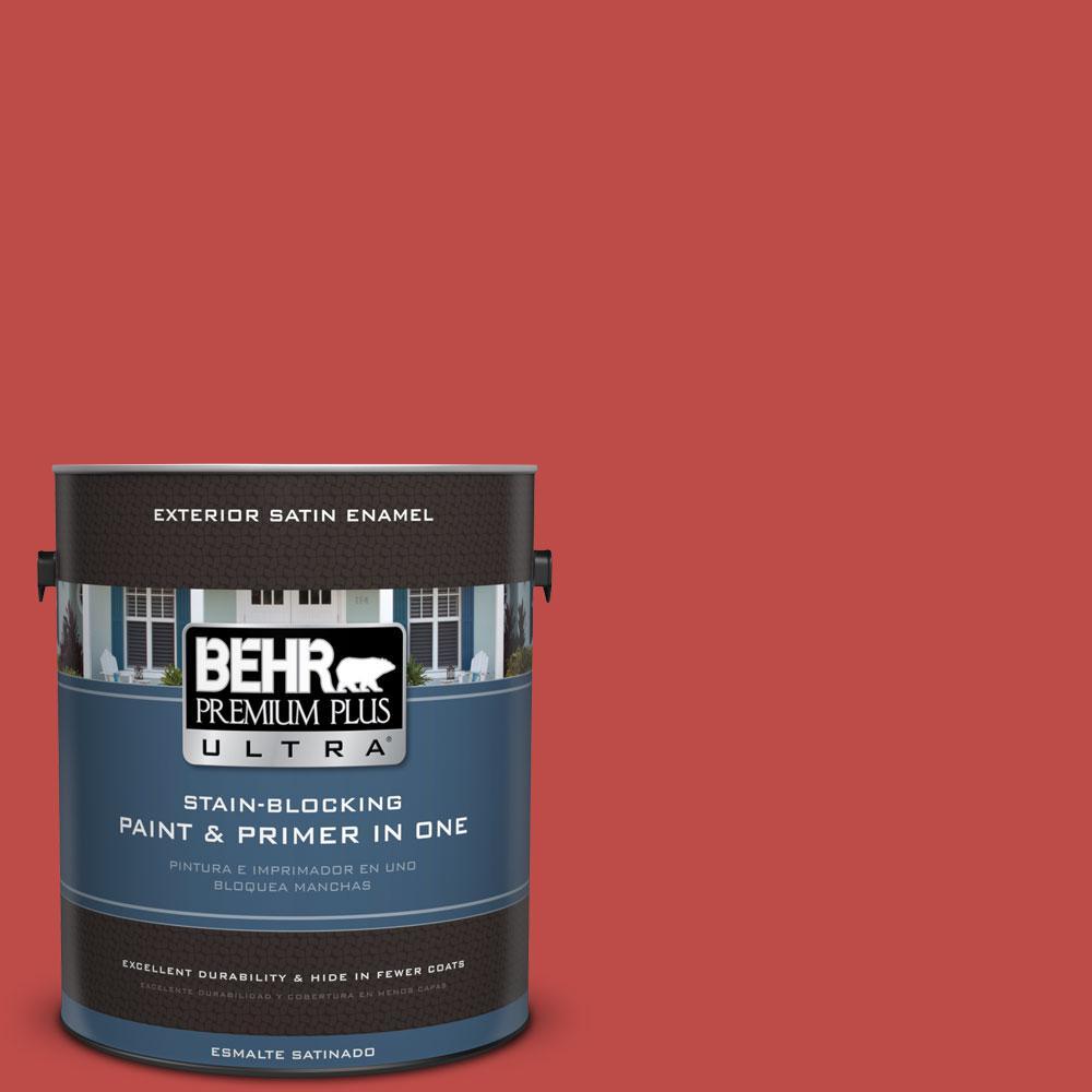 BEHR Premium Plus Ultra 1-gal. #P160-6 Intrigue Satin Enamel Exterior Paint