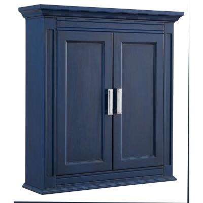 H Wall Cabinet In Royal Blue