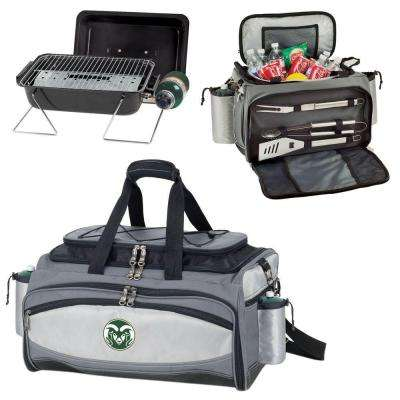 Vulcan Colorado State Tailgating Cooler and Propane Gas Grill Kit with Digital Logo