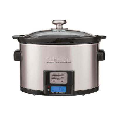 3.5 Qt. Brushed Stainless Programmable Slow Cooker