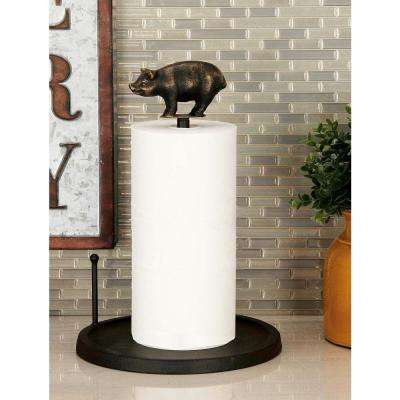 Classic Farmhouse Pig Iron Tissue Holder